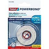 Tesa Powerbond 55732-00002-02 Montageband voor spiegels, sterk, 1,5 m x 19 mm