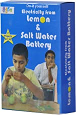 Kutuhal Lemon and Salt Water Battery Making Kit. Do It Yourself Science Activity Project