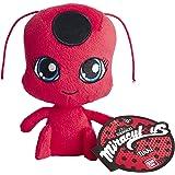 Bandai 39831 Miraculous Marienkäfer Tikki, Plüsch-Spielzeug, 15cm, Rot und Schwarz