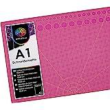 OfficeTree® Tapis de Decoupe Autocicatrisant A1- Plaque de Découpe – Tapis Coupe Couture pour Découpages Professionnels - 3 C