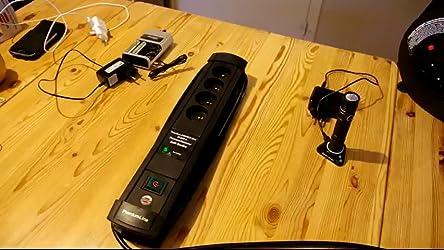 Brennenstuhl Premium Protect Techno Verlängerungskabel Mit Überspannungsschutz Filter Schwarz 1155001764 Baumarkt
