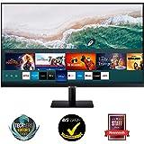 Samsung Smart M7 de 32 pulgadas LS32AM702UUXEN con Tecnología 4K UHD (3840x2160), Altavoces, conectividad Móvil, Mando a Dist