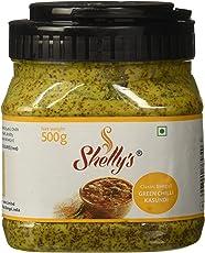 Shelly's Green Chilli Kasundi, 500g