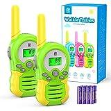 MTM Walkie Talkies Kinder mit Batterien, 2xFunkgerät 8 Kanäle 10 Klingeltöne VOX Funktion mit Hintergrundbeleuchteter LCD, 3K