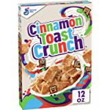 Cinnamon Toast Crunch - Cereali alla cannella croccanti - 340 grammi