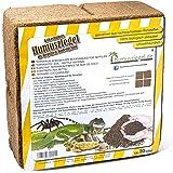 Humusziegel - 70 L Sustrato de Fibra de Coco para Reptiles - Ladrillo de Humus de Coco - Cama de Suelo Tierra de Coco - Sustr