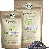 Lavendelblüten Bio Lavendel getrocknet (100g) aus Frankreich als Bio-Lavendel-Tee oder Gewürz vom-Achterhof
