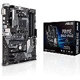ASUS PRIME B450-PLUS - Placa base AMD AM4 ATX con conector Aura Sync RGB, DDR4 3200 MHz, M.2, HDMI 2.0b, SATA 6 Gbps y USB 3.