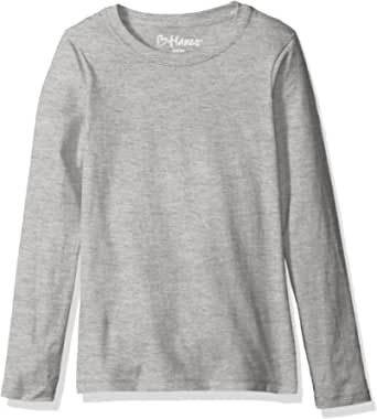 Hanes - Maglietta a maniche lunghe, da donna