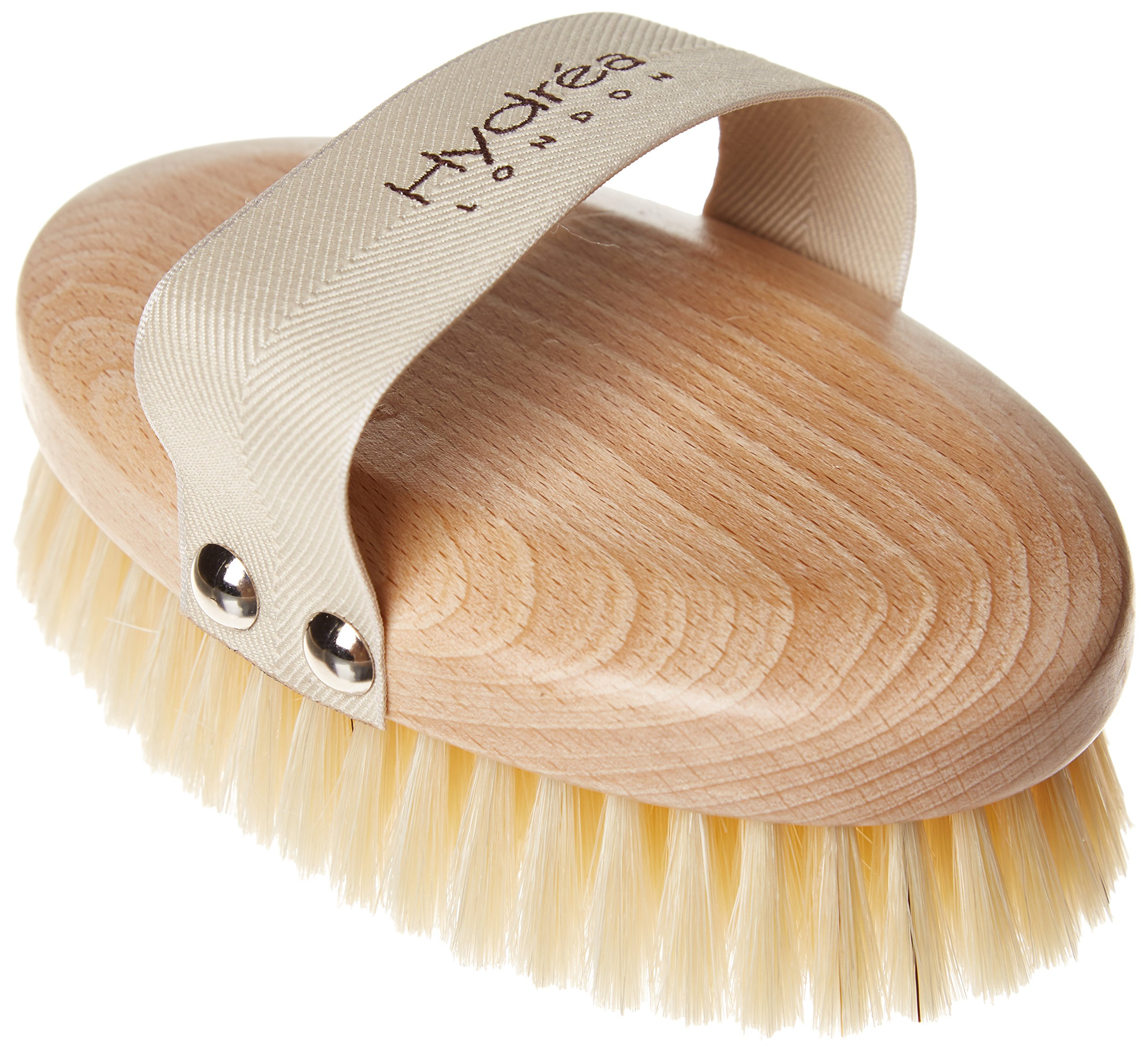 Hydrea Professional FSC* Beechwood Body Brush with Natural Bristles (Medium Strength)