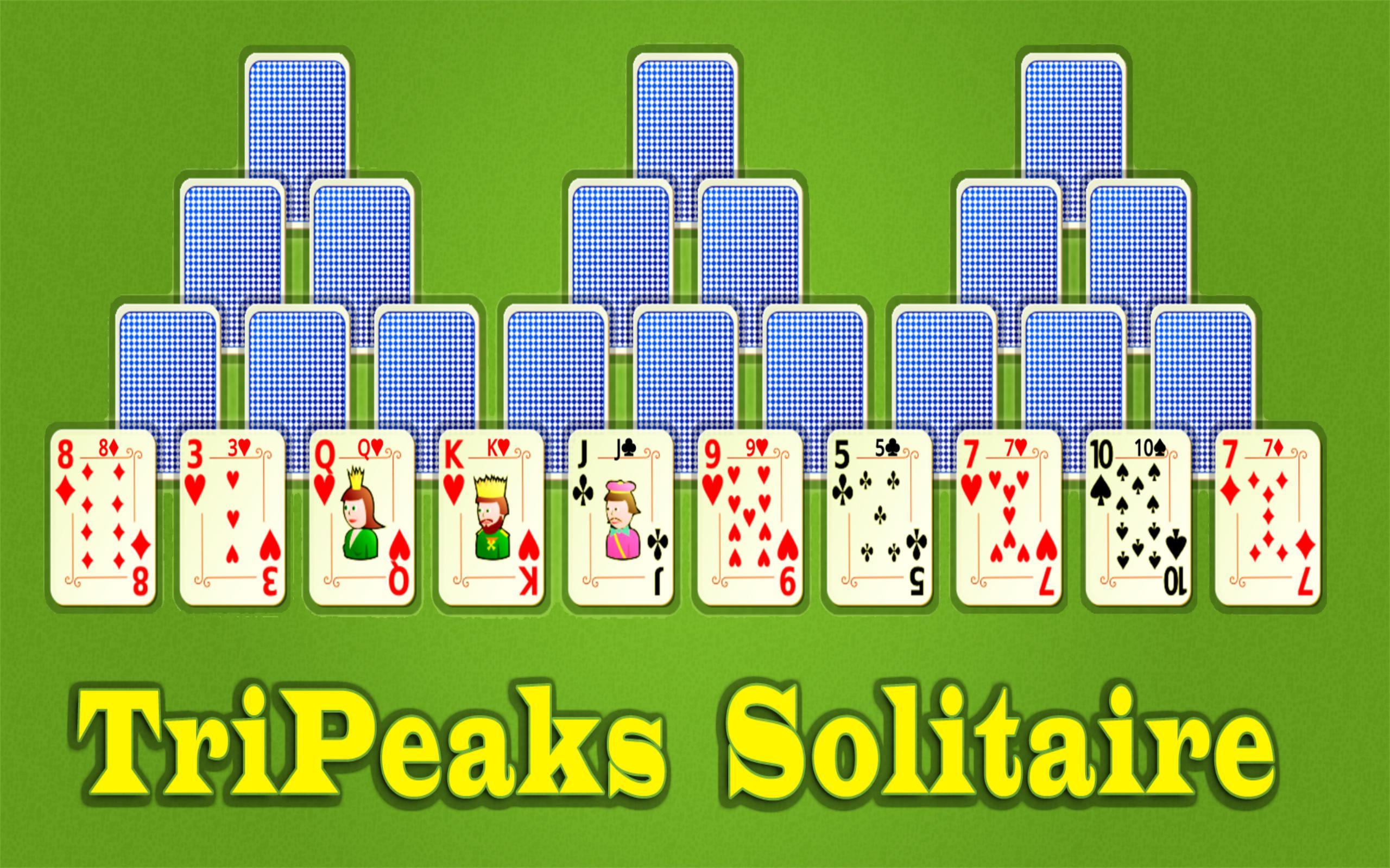 Tri Peaks Solitaire Anleitung