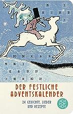 Der festliche Adventskalender: 24 Gedichte, Lieder und Rezepte (Fischer Taschenbibliothek)