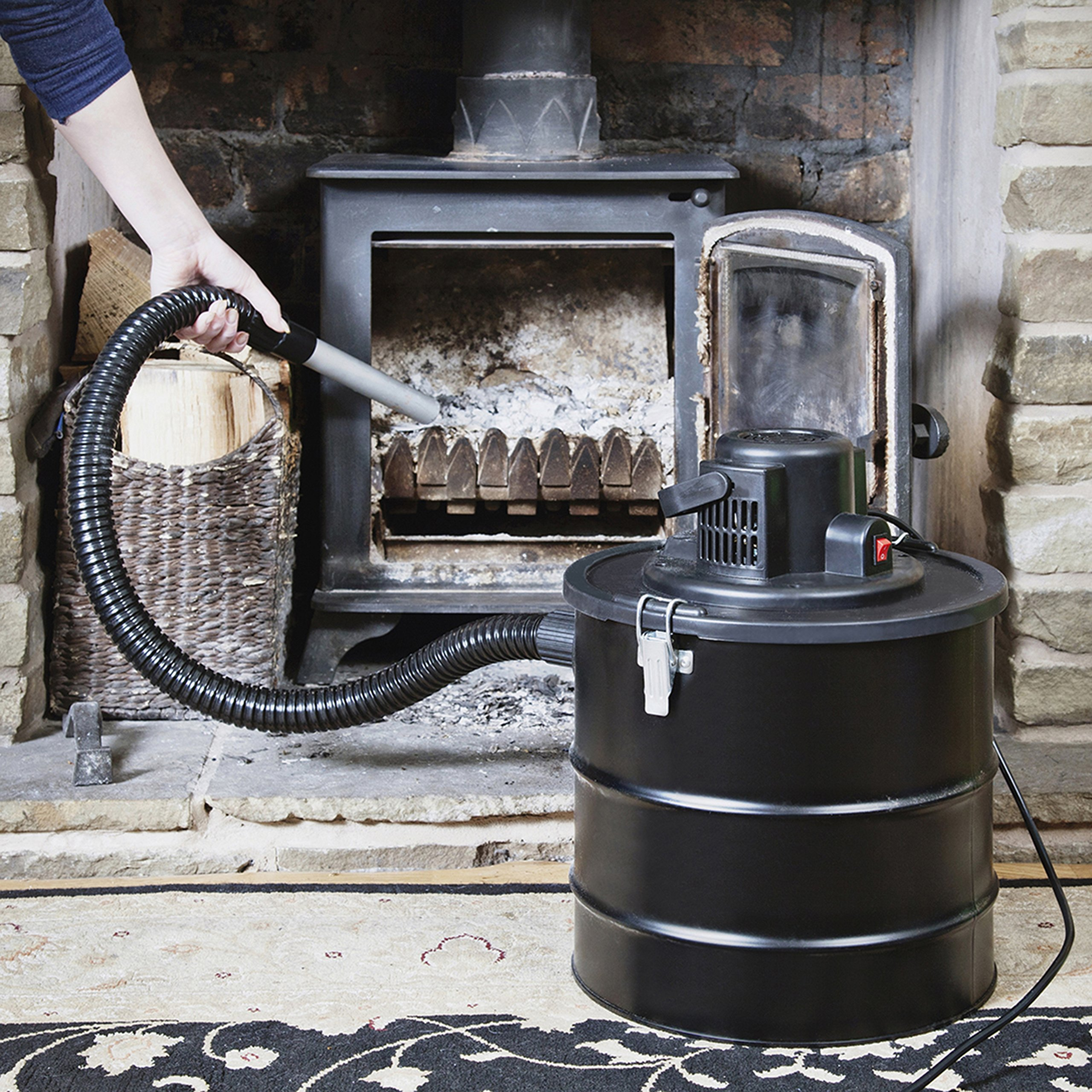 Hot Ash Vacuum Cleaner Suitable Fireplaces Stoves and Wood Burner ...