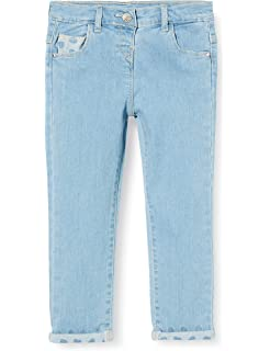 Chicco Girls Pantaloni Lunghi Jeans Denim Stretch Bimba