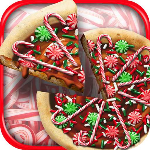 Christmas Candy Pizza Maker Baker - Kids Winter Holiday Dessert Cooking Game