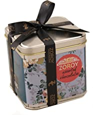 Zoroy Luxury Chocolate Assorted Chocolate Gift Tin - 400 Grams