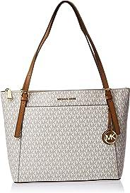 Michael Kors Tote Bag for Women- Monogram/Vanilla