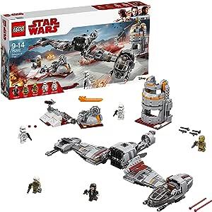 LEGO- Star Wars Snowtrooper TMDifesa di Crait, Multicolore, 75202