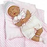 NINES D´ONIL - Reborn pop Mijn kleine baby met gesloten ogen (700),Meerkleurig