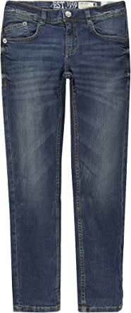Casual Gr/ö/ße 134-176 Verstellbarer Bund Slim Fit Blue Denim Staccato Jungen Jeans Jonas 5-Pocket-Style Regular Fit und Big Fit Stretch