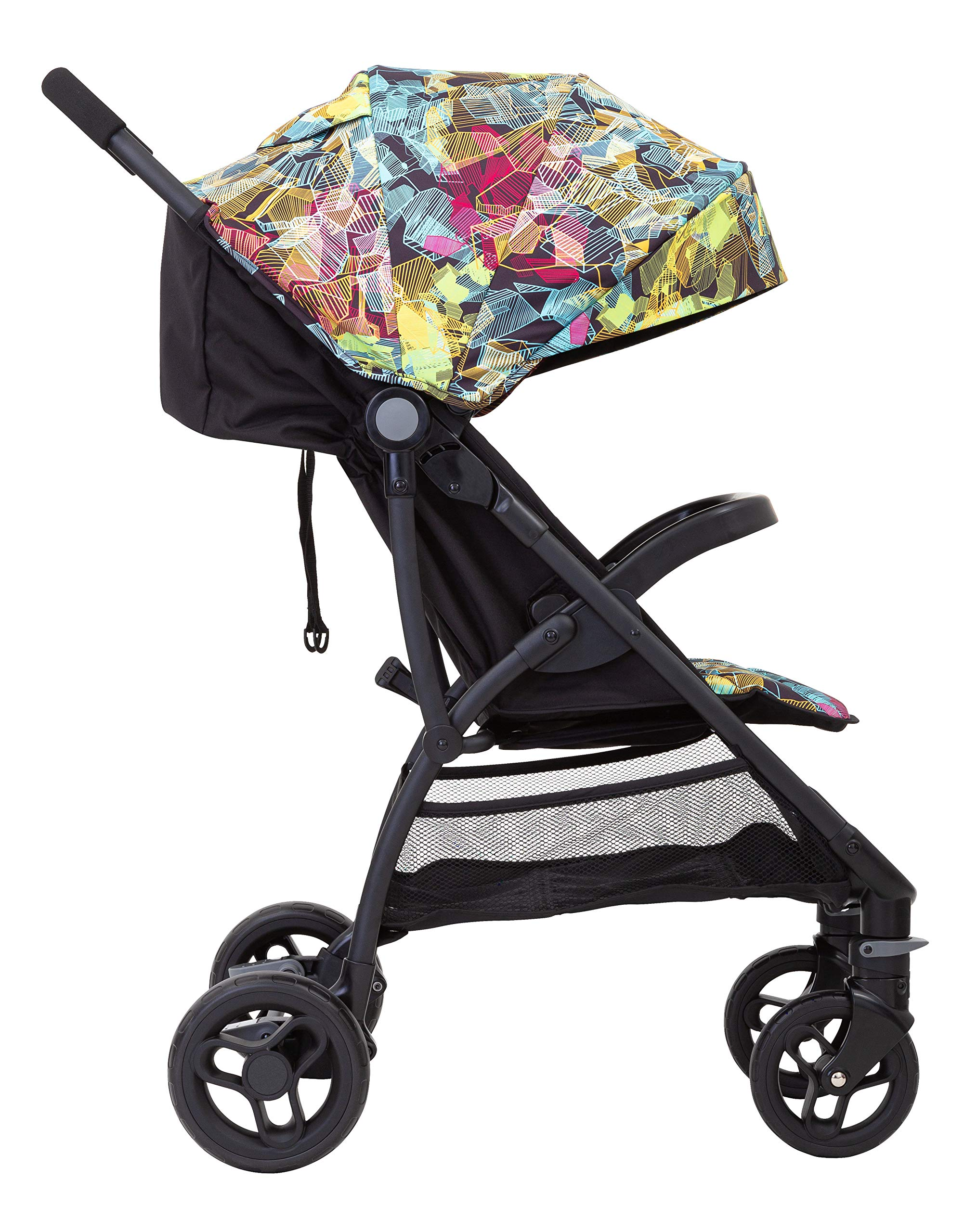 Graco Breaze Lite Stroller, Kaleidoscope Graco From birth to 3 years approx. (0-15kg) Lightweight at only 6.5kg Click connect travel system compatible with graco snugride/snugessentials isize infant car seats 4