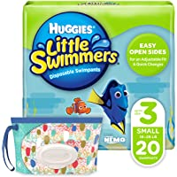 Huggies Little Swimmers Swim Pants Unisex, Small, 20 Count