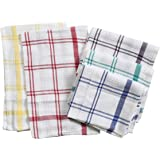 PIXEL HOME Cotton Kitchen Cleaning Towel (Set of 5, White)
