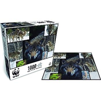 promo code 71ecf a54c1 modélisation durable WWF Wild Cats 1000 pièces Puzzle