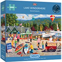 Lake Windermere 1000 Piece Jigsaw Puzzle | Sustainable Puzzle for Adults | Premium 100% Recycled Board | Great Gift for…