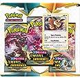 Pokémon Epée et Bouclier-Ténèbres Embrasées (EB03) : Pack 3 boosters, 3PACK01EB03