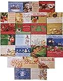 50 zauberhafte und hochwertige Weihnachtskarten 17x12cm u.a. von Perleberg in verschiedenen wunderschönen winterlichen Weihnachten-Designs umweltfreundliches Papier in FSC Qualität