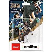 Amiibo The Legend of Zelda: Breath of the Wild Link a Cavallo Figurina
