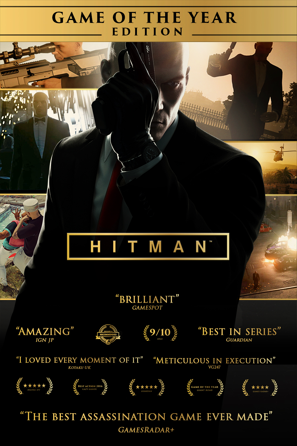 Hitman Game of the Year Edition [PC Code - Steam]