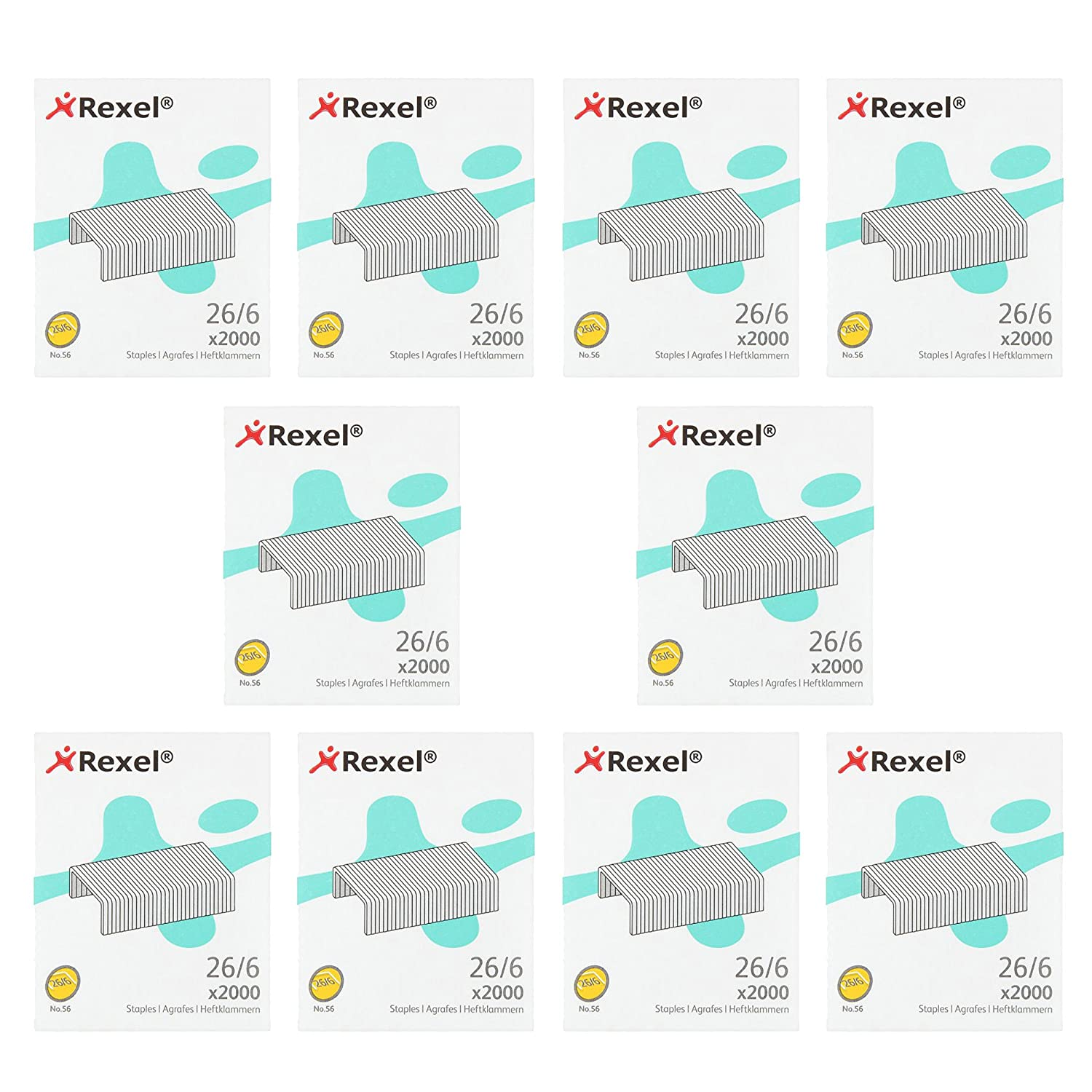 rexel no 56 staples pack of 5000 office products