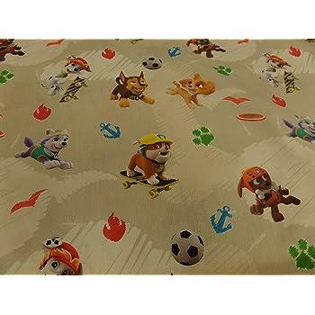 Generic Kinderstoff Disney Digitaldruck Paw Patrol 100 Bw 145 Cm