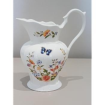 Aynsley China Cottage Garden 105 Jug Vase Made In England Amazon