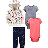 Simple Joys by Carter's 4-Piece Jacket, Pant, And Bodysuit Set Bimba 0-24