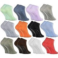 Rainbow Socks - Donna Uomo Calzini Antiscivolo di Bambù