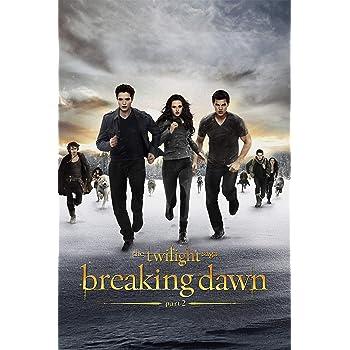 A4 The Twilight Saga Breaking Dawn 7 Movie Poster Canvas Picture Art Print A0