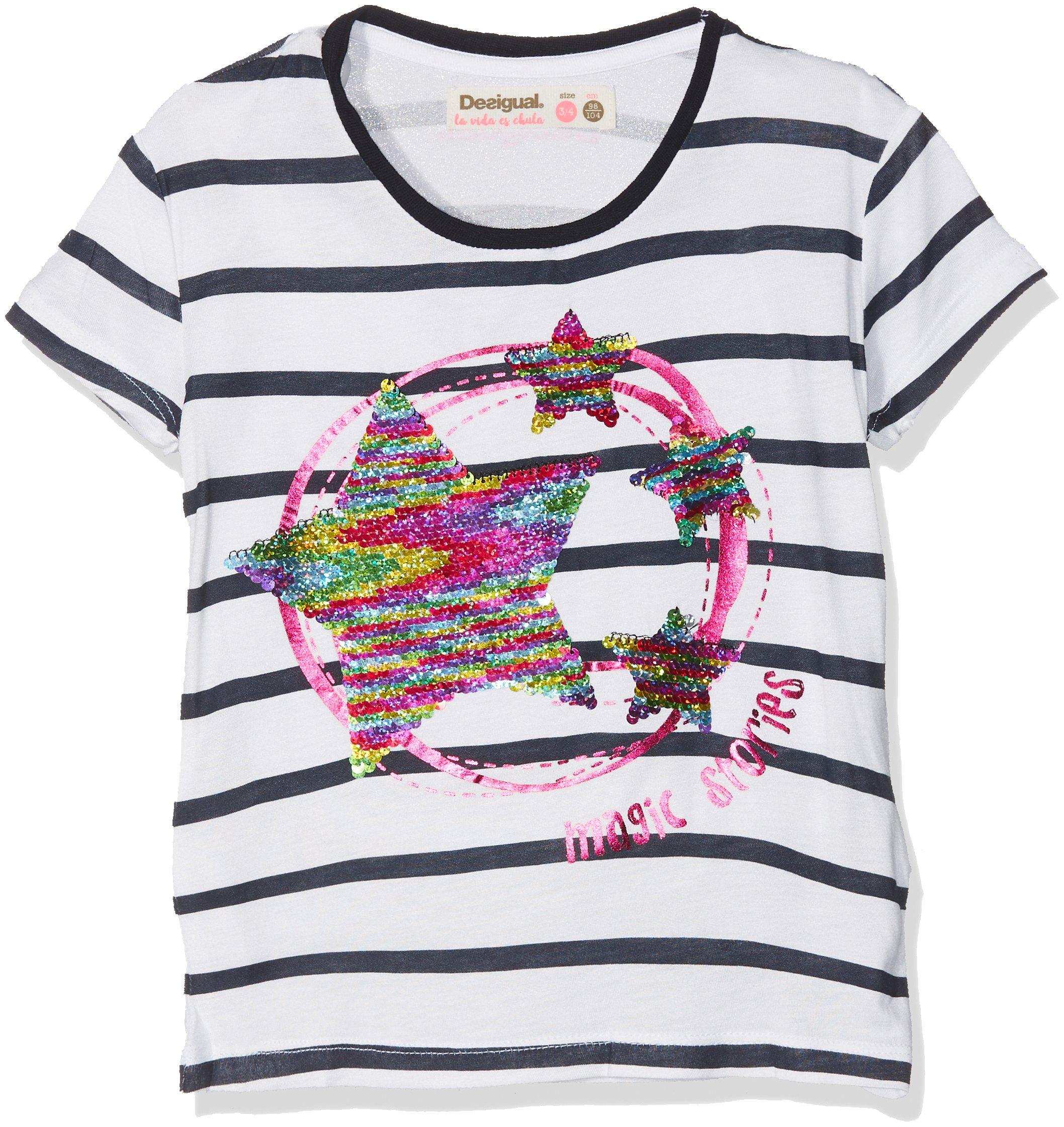 Desigual TS_Nunavut Camiseta para Niñas