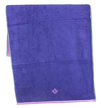 Vossen Bath Towels, 100% Cotton, Urbanlife Violet, 2 Handtücher 50 X 100