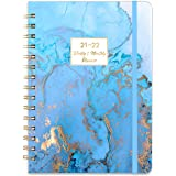 2021-2022 Diary - Weekly & Monthly Diary with Tabs, a5 Week to View from Jul. 2021 - Jun. 2022, Hardcover, Inner Pocket, Thic