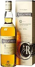Cragganmore 12 Jahre Speyside Single Malt Scotch Whisky (1 x 0.7 l)