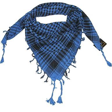 echarpe keffieh homme,Shemagh Keffieh Foulard Echarpe Urban Wear Blanc  u0026 Bleu Mixte Pour Homme Et ... 9d9f60379eb