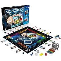 Monopoly Banking Cash-Back Brettspiel; elektronischer Kartenleser; Cash-Back Bonus; bargeldloses Zahlen; Scan…