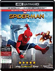 Spider-Man: Homecoming (4K UHD + Blu-ray 3D + Blu-ray) (3-Disc)