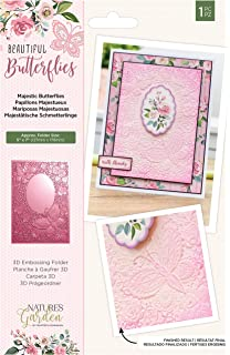 Apple Blossom Embossing Folder Birch Trees SceneWoodland Collection