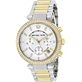 Michael Kors Parker Watch for Women - Analog Stainless Steel Band - MK5626