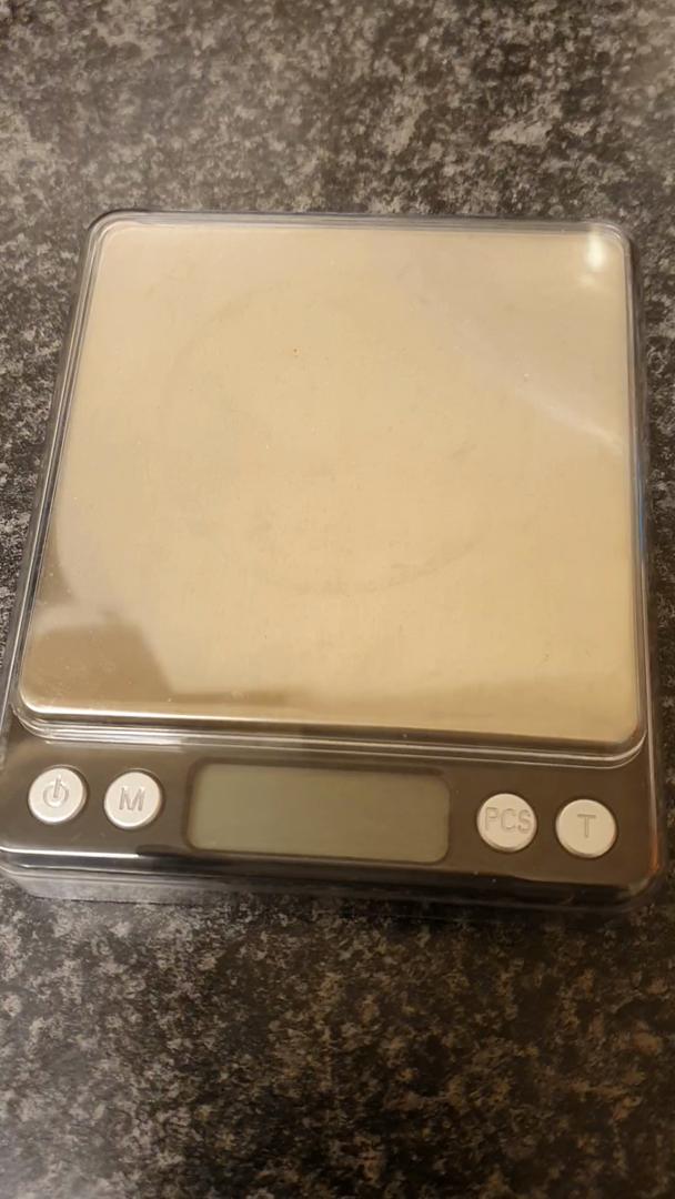 LEMCASE Báscula de Cocina Digital - Báscula Fina, Báscula de Bolsillo, Báscula Digital - Báscula electrónica Profesional con Pantalla LCD iluminada, 3 kg / 0.1 g de Capacidad | Negro: Amazon.es