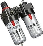 Silverline 245014 - Filtre régulateur lubrificateur pour air comprimé - 150 ml